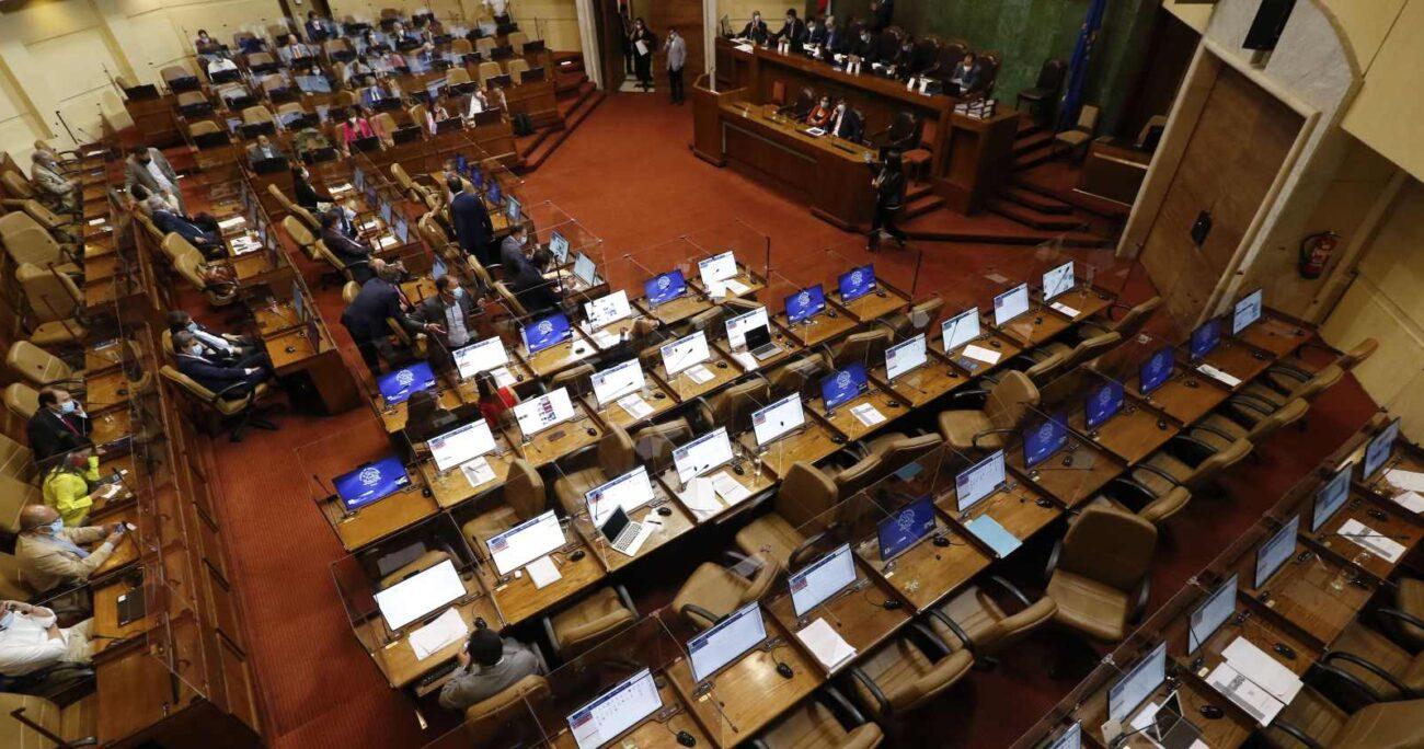 La iniciativa modifica la Ley de Pensiones y fue respaldada en general por unanimidad. Foto: Agencia UNO