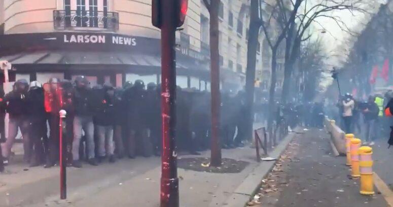 Al menos 95 detenidos tras disturbios en Francia por Ley de Seguridad Global