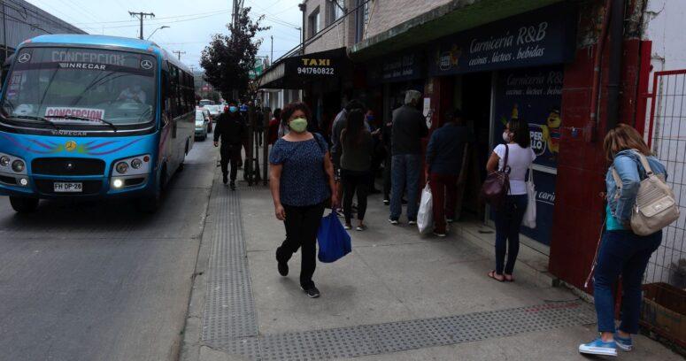 """""""Concepción y Punta Arenas se mantienen como las comunas con más casos activos de COVID-19"""""""