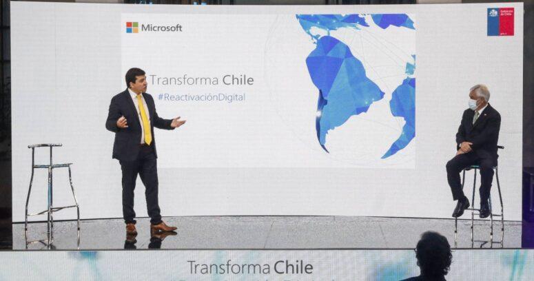 """""""La Moneda anuncia que Microsoft construirá datacenters en Chile"""""""