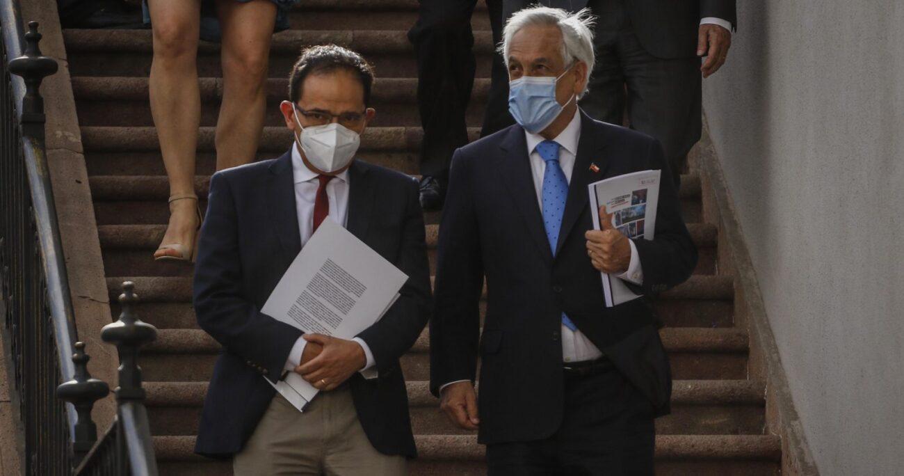 Piñera destacó esfuerzos del Gobierno por crear una cultura de respeto a DDHH. Foto: Agencia UNO