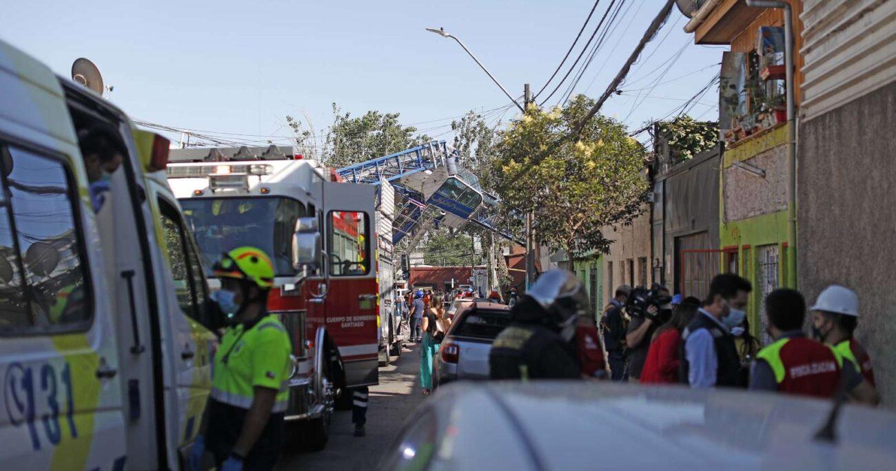 La situación se registró durante la mañana de este lunes. Foto: Agencia Uno.