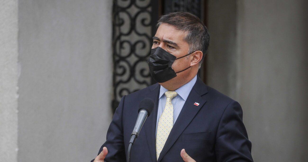 Desbordes tras renunciar al Gobierno. Fuente: Agencia Uno.