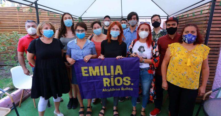 Emilia Ríos (RD) lanzó su candidatura a la alcaldía de Ñuñoa