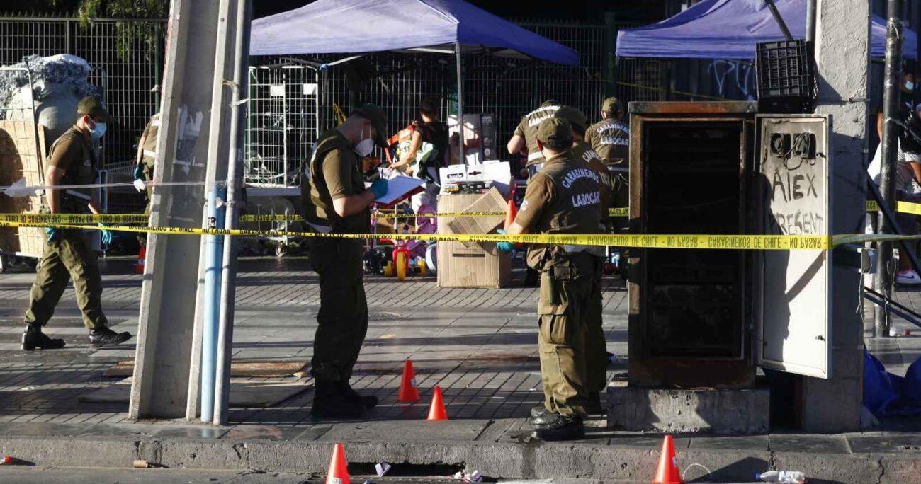 El joven contaba con un amplio prontuario policial. Foto: Agencia Uno.