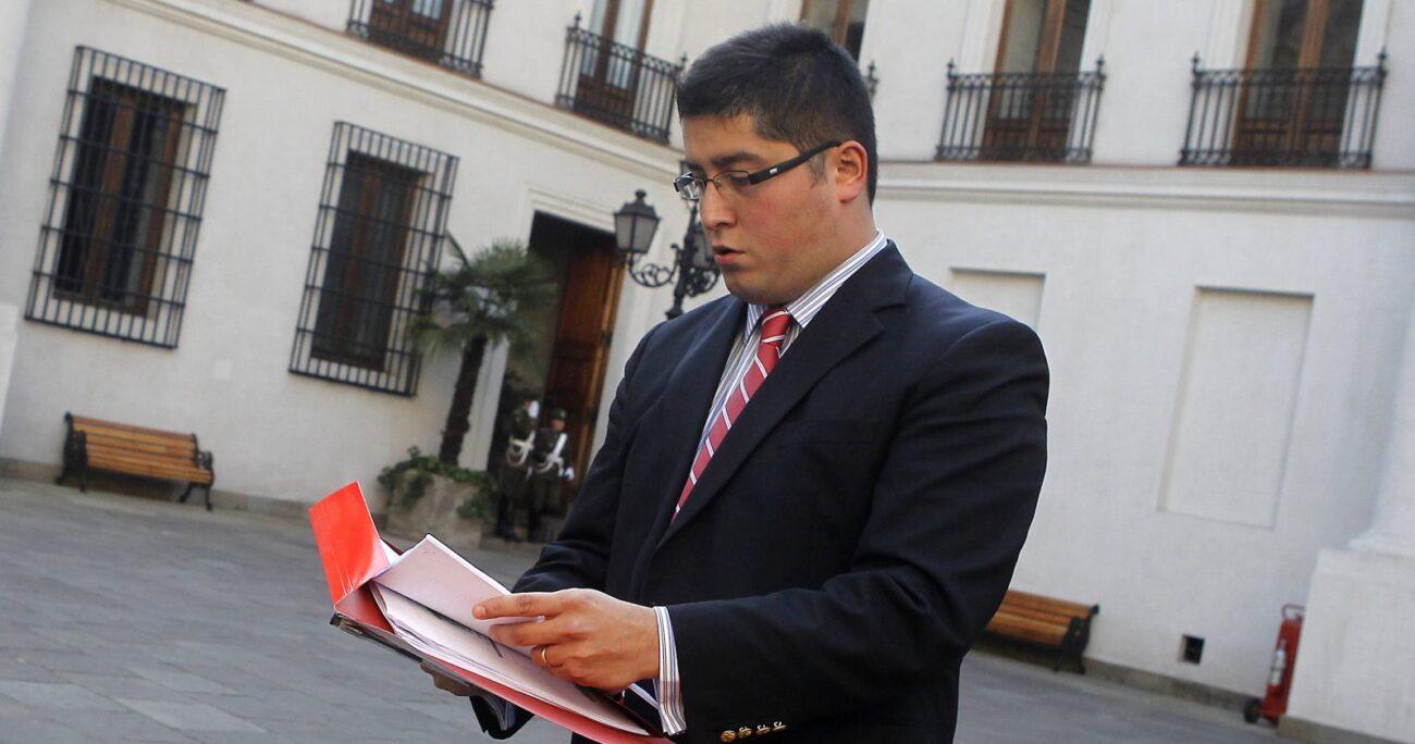 Gino Lorenzini, creador de FYF en La Moneda. Fuente: Agencia Uno.