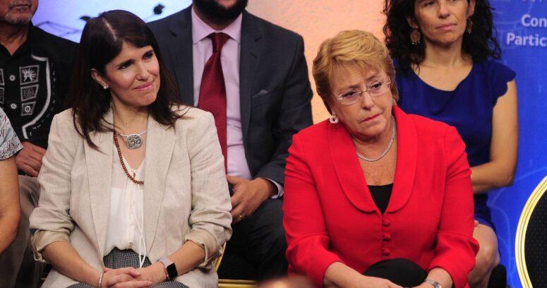 Michelle Bachelet entrega su apoyo a opción presidencial de Paula Narváez
