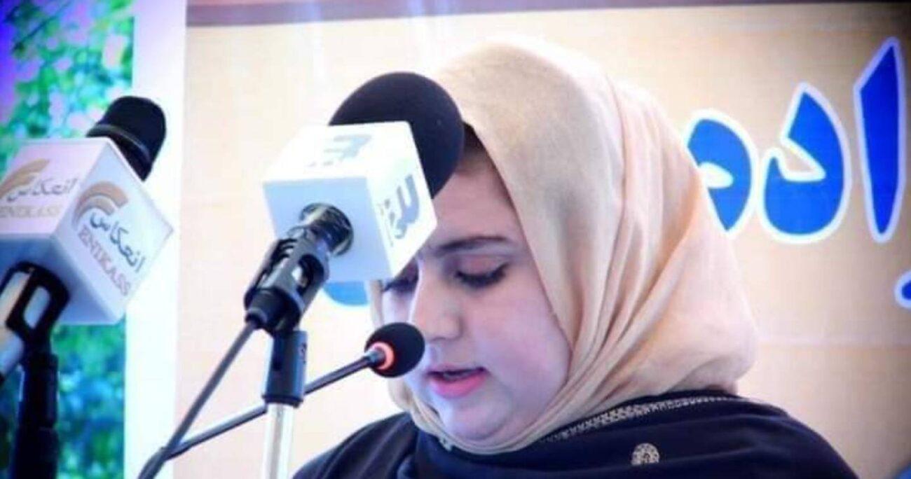 Maiwand era activista en favor de los derechos de las mujeres y los niños. Foto: @hafeez_jalalzai