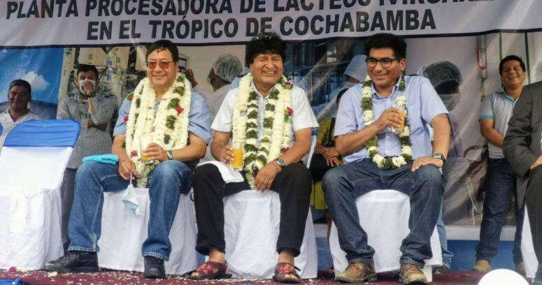 VIDEO – Golpean a Evo Morales en un encuentro con miembros de su partido