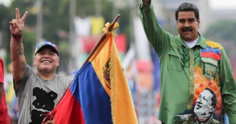 La multimillonaria deuda del régimen de Maduro con Maradona