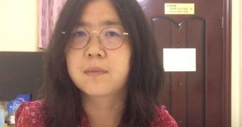 """""""Periodista china que denunció brote de COVID-19 en Wuhan fue condenada a cuatro años de cárcel"""""""