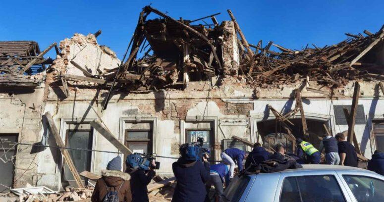 Terremotode 6,3 grados sacude Croacia