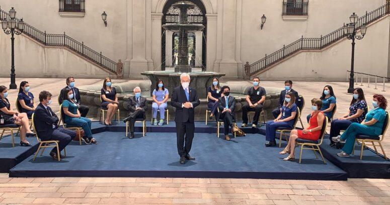 Piñera anunció la llegada de un segundo cargamento de vacunas para este jueves