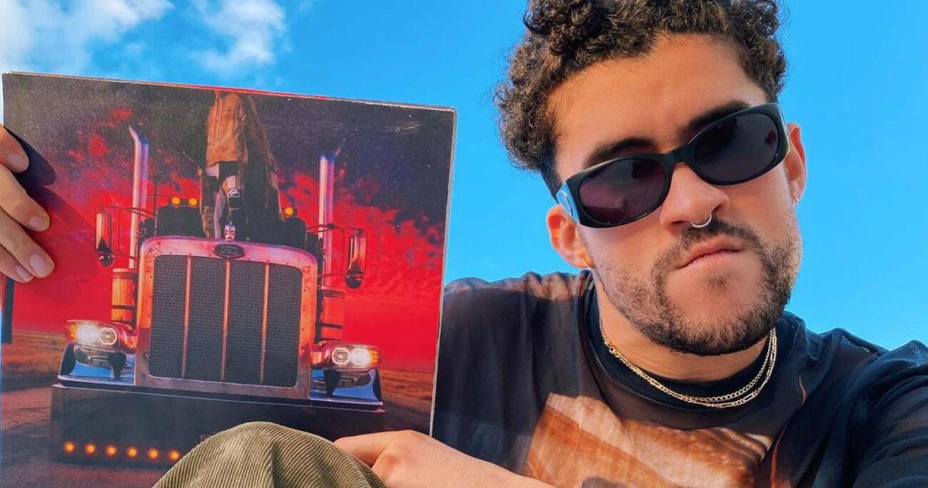 El puertorriqueño lanzó tres discos solo este año. Foto: Instagram.