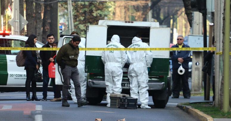 Artefacto explotó en comisaría ubicada en Estación Central