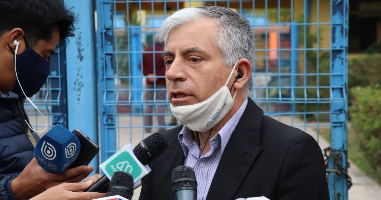 Carlos Díaz Marchant, el nuevo presidente del magisterio. Foto: Regional Metropolitano del Colegio de Profesores