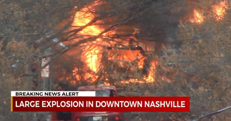 """""""Explosión en Nashville dejó tres heridos: policía cree que fue un"""