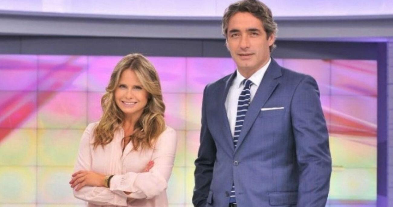 La pareja de periodistas trabajaron por años en la edición central del noticiero de Mega. / Foto: Mega