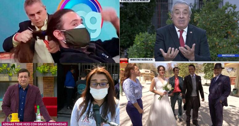 Los 12 momentos más insólitos que nos dejó la TV en este 2020