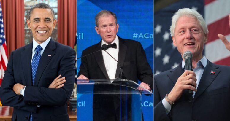 """""""Barack Obama, George W. Bush y Bill Clinton se ofrecieron como voluntarios para vacunarse contra el COVID-19"""""""