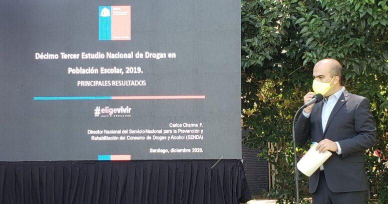"""""""Escolares chilenos disminuyen el consumo de marihuana, pero aumentan la embriaguez"""""""