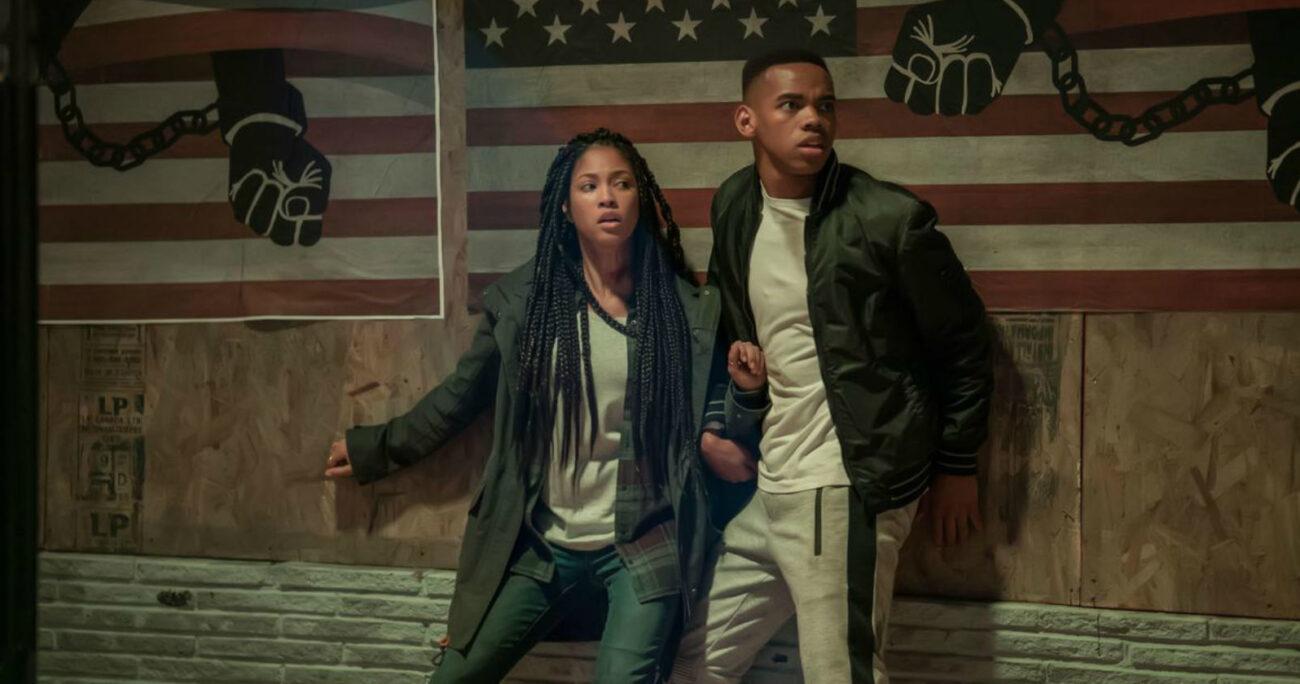 Una escena de The First Purge. Foto: Netflix.