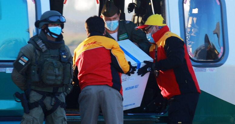Vacunas contra el COVID-19 ya llegaron a La Araucanía y a Magallanes