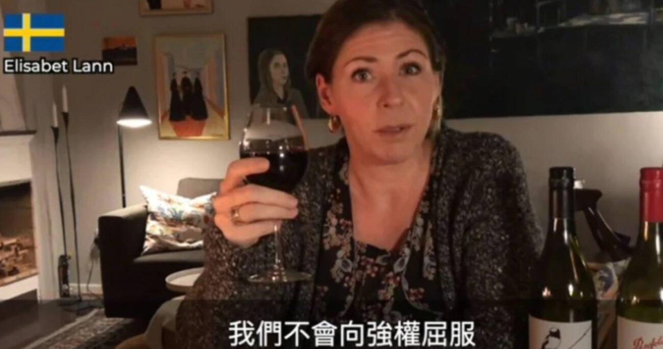 Diputados de Japón, Italia, Alemania, Estados Unidos y Nueva Zelanda han hecho un llamado a sus ciudadanos a disfrutar del vino australiano. Foto: Captura de pantalla.