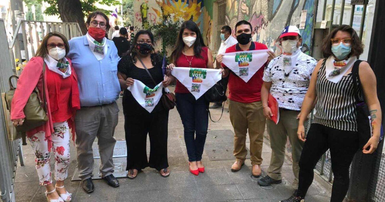 Lista constituyente apoyada por Felices y Forrados - Foto: Facebook.com/FelicesyForrados