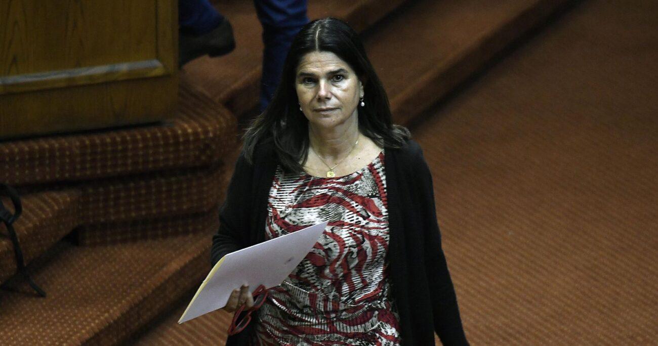 Ximena Ossandón en la Cámara de Diputados. Fuente: Agencia Uno.