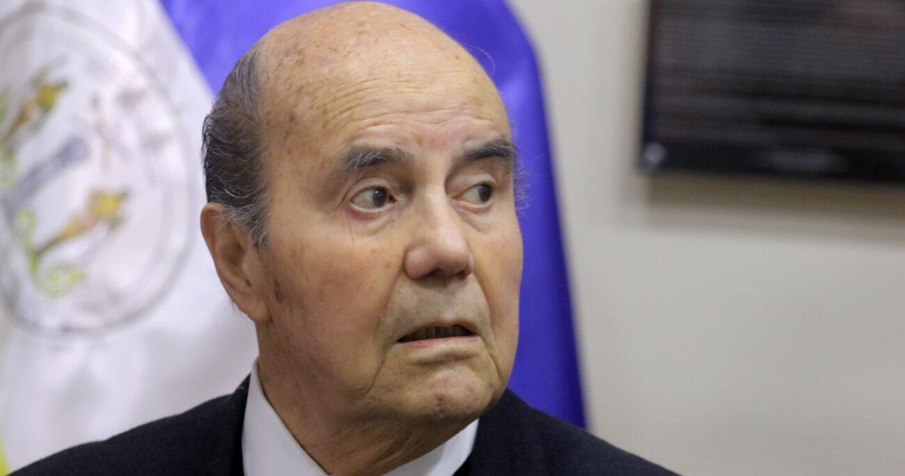 Patricio Rojas fue ministro de Defensa entre 1990 y 1994. Fuente: Agencia Uno.