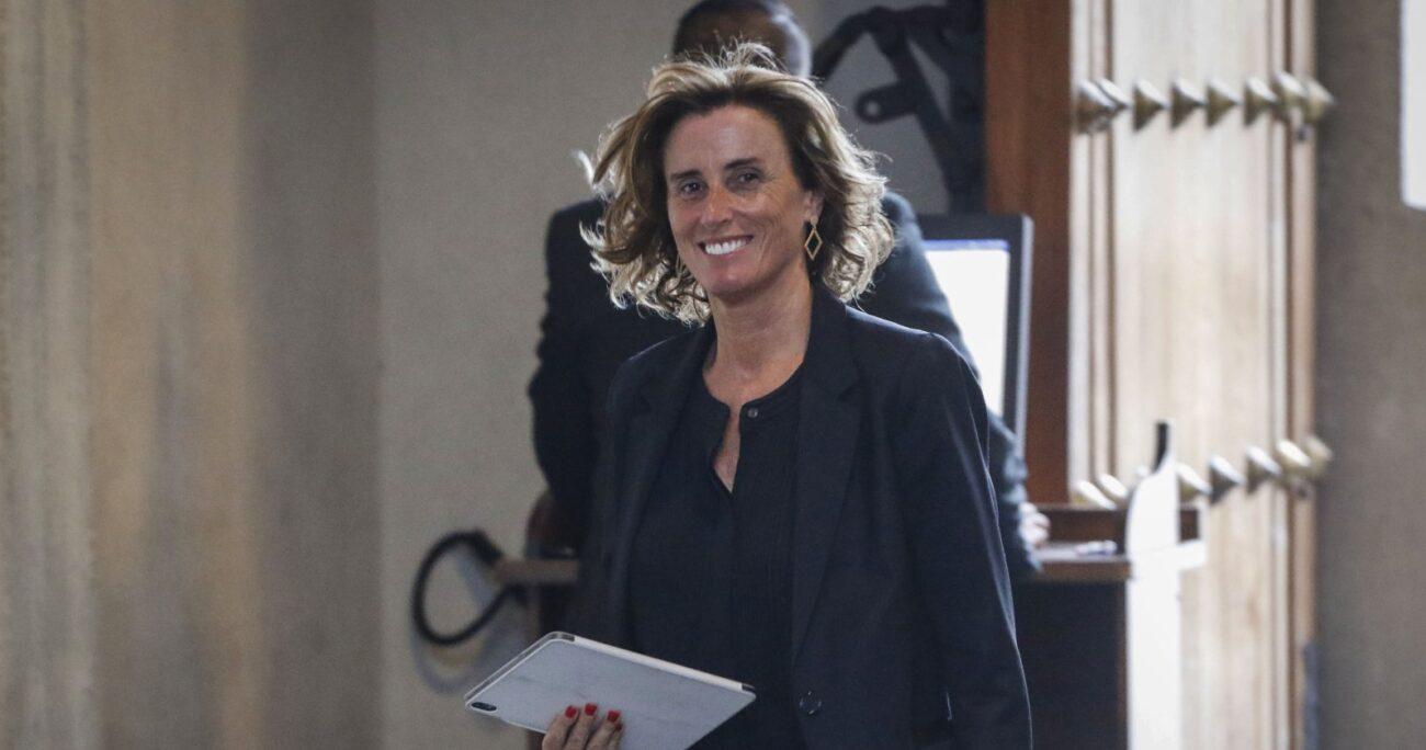 La ex ministra de Educación votó en contra del Rechazo. Foto: Agencia UNO