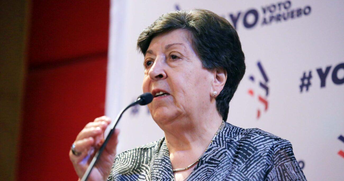 Carmen Frei, hija del ex Presidente Eduardo Frei Montalva. Foto: Agencia Uno