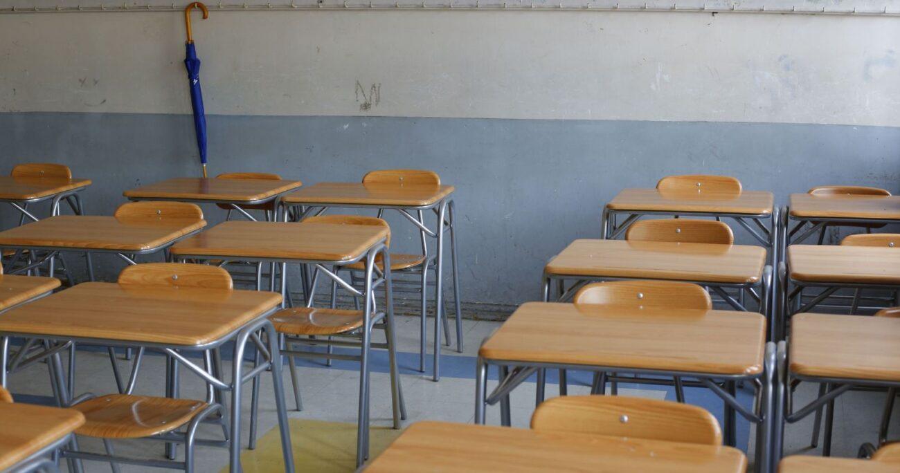 La cifra de profesores que no pudo realizar clases aumenta a un 42% en el caso de las escuelas multigrado. Foto: Agencia Uno.