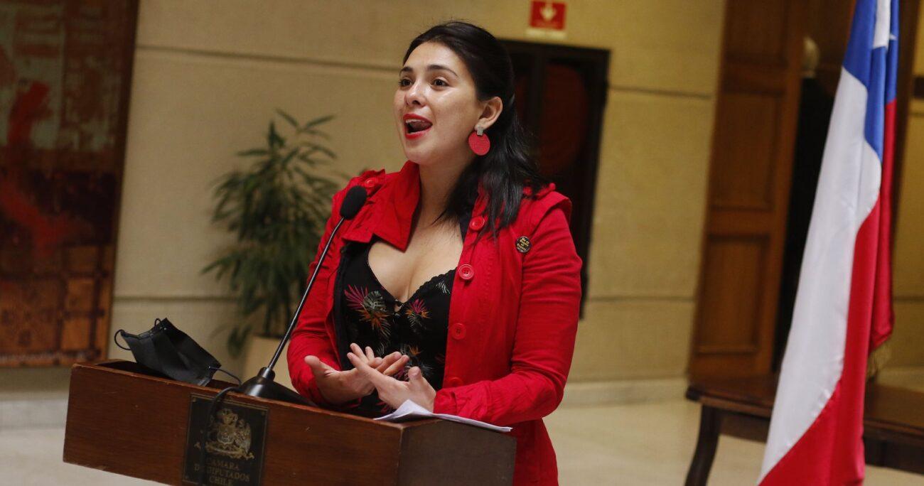 La parlamentaria señaló entender la postura de la comunidad Temucuicui. Foto: Agencia UNO