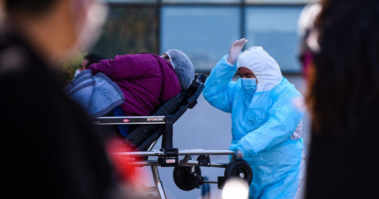 Minsal señaló la presencia de 911 personas hospitalizadas. Foto: Agencia UNO