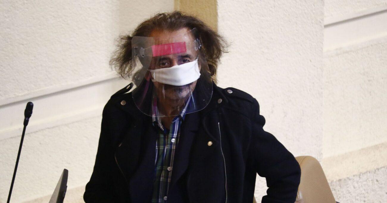Alarcón está alejado de sus actividades por una licencia médica. Foto: Agencia Uno