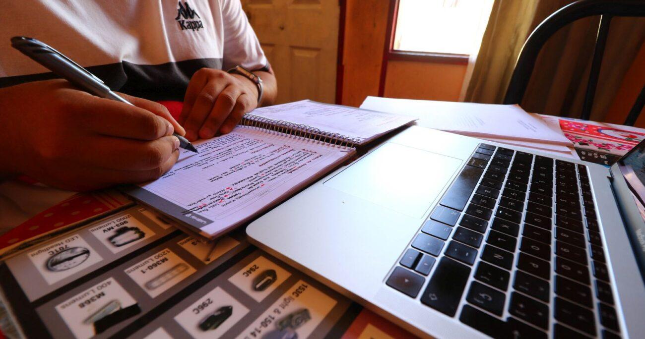 Gran parte de las instituciones conservarán los cursos a distancia. Foto: Agencia Uno.