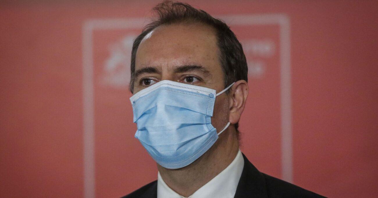 El presidente de Metro, Louis de Grange. Foto: Agencia Uno