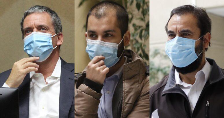Último día como parlamentarios: así se despidieron Harboe, Garín y Gutiérrez del Congreso