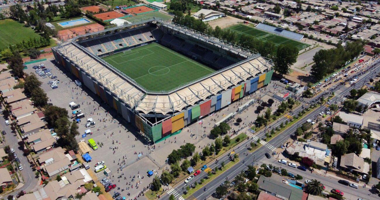 El Estadio Bicentenario de La Florida. Foto: Agencia Uno