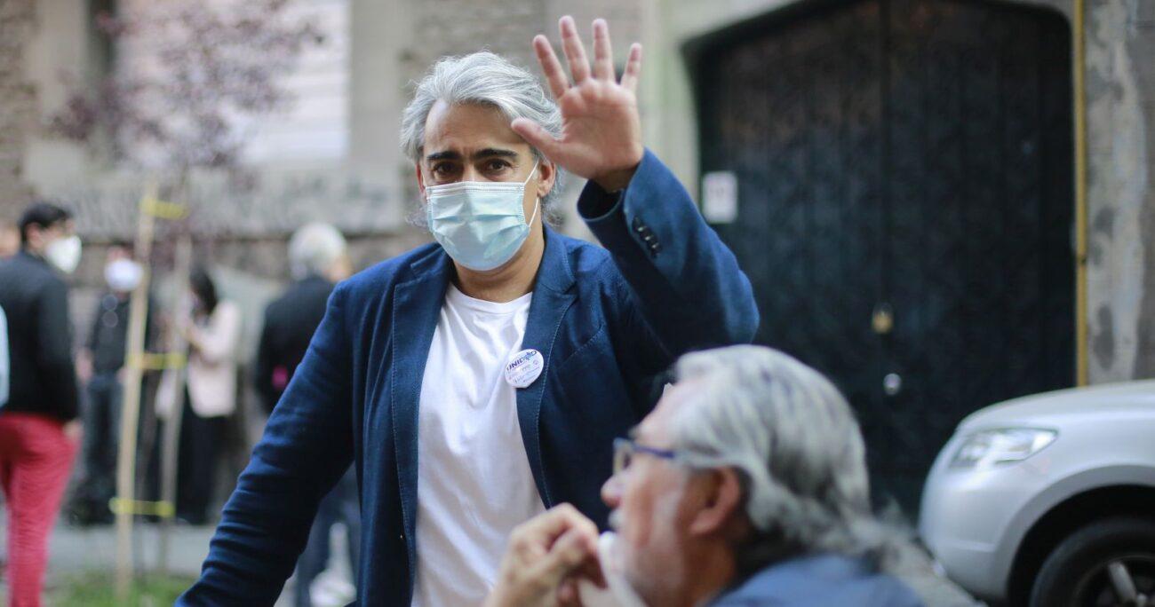 El ex candidato presidencial Marco Enríquez-Ominami. Foto: Agencia Uno