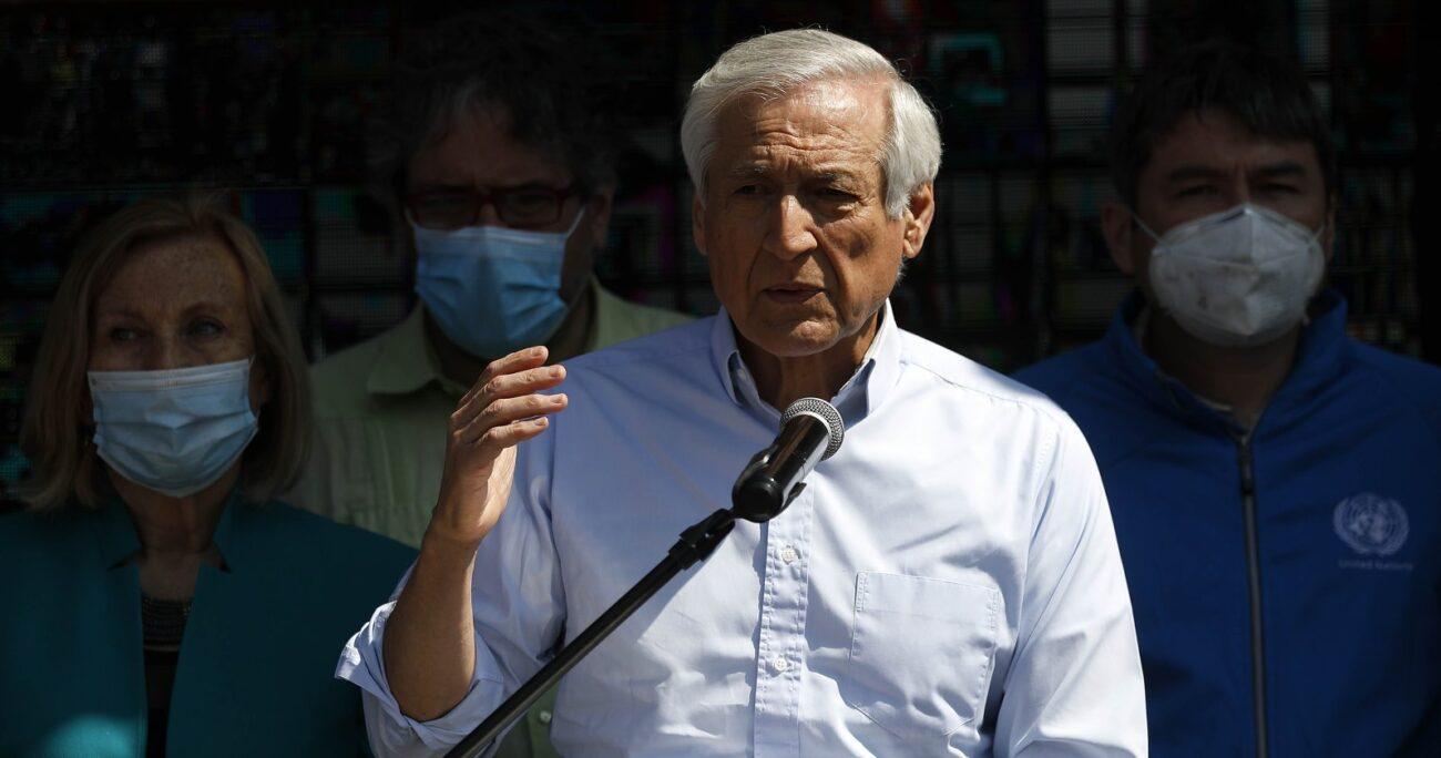 Heraldo Muñoz es precandidato del PPD a La Moneda. Fuente: Agencia Uno.