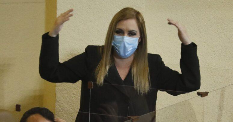 """Rastrero, cobarde y vulgar"": diputada Pamela Jiles arremete contra Felipe Harboe"