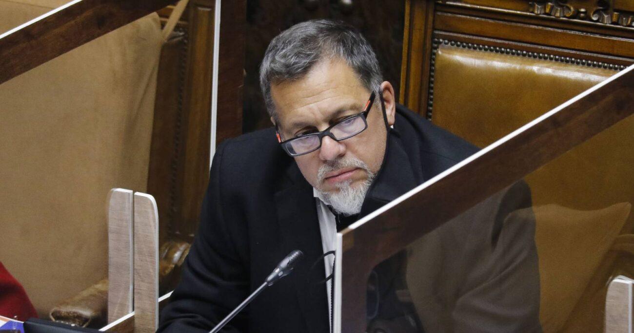 Ricardo Lagos Weber, senador PPD - Foto: Agencia Uno