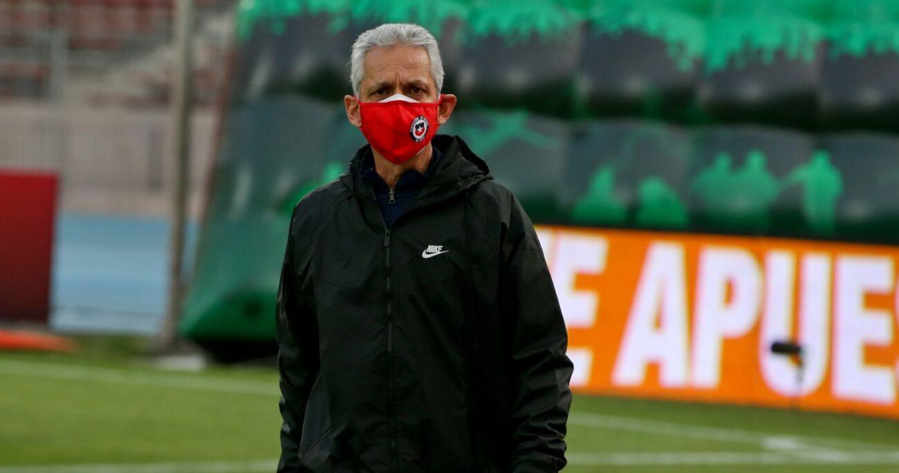 Rueda como director técnico de la selección chilena. Foto: Agencia Uno