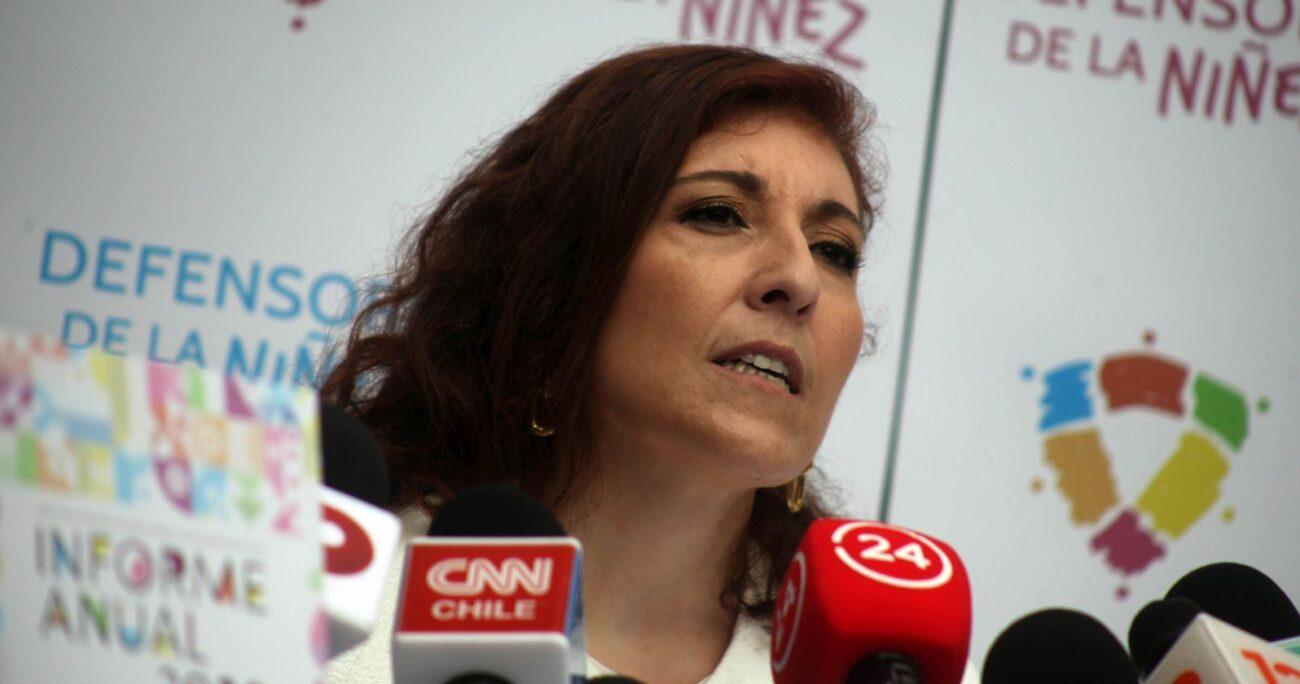 Patricia Muñoz entregó la versión que posee sobre los hechos. Foto: Agencia Uno.