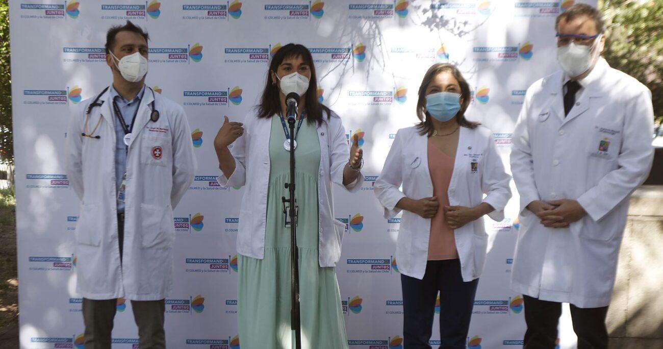 José Miguel Bernucci es oncólogo de profesión. Fuente: Agencia Uno.