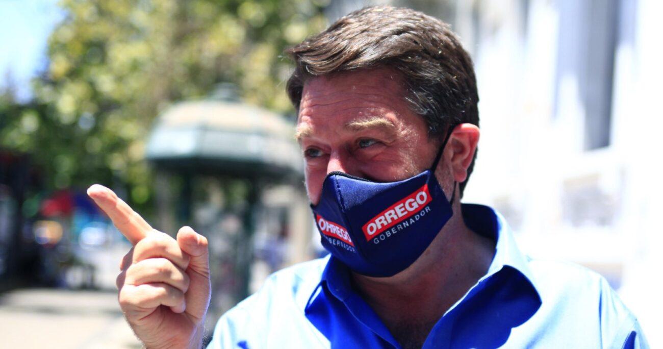 Claudio Orrego es el candidato de Unidad Constituyente. Fuente: Agencia Uno.
