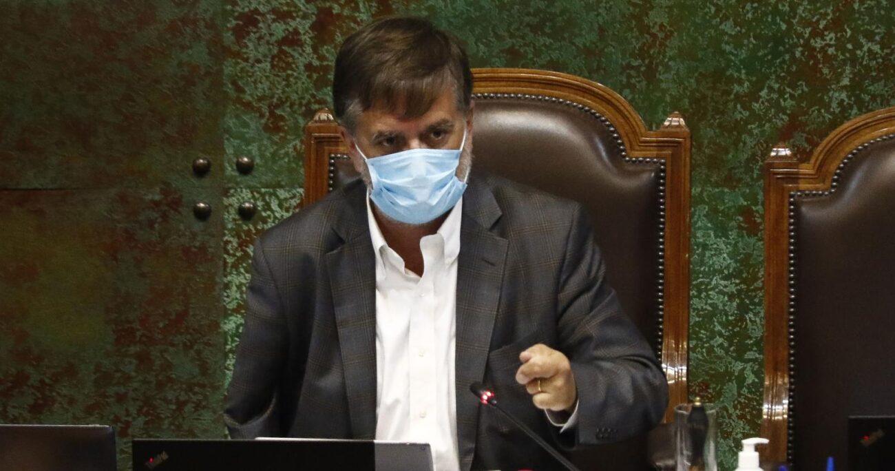 Francisco Undurraga volvió a referirse a la inclusión del Partido Republicano a la lista de Chile Vamos. Fuente: Agencia Uno.